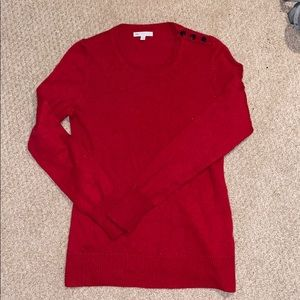 Red Gap Sweater, size S.